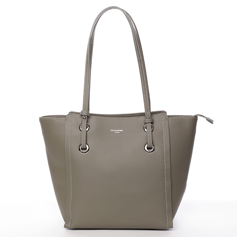Elegantní shopper taška David Jones Amour, zelená