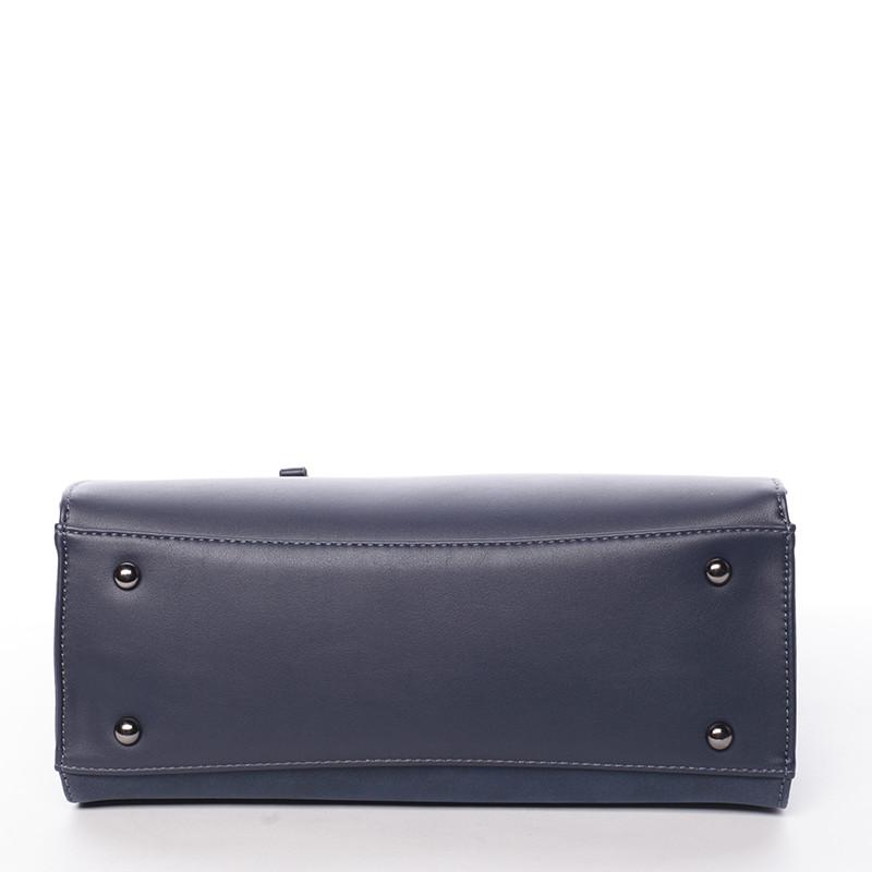 Sofistikovaná dámská kabelka David Jones Valentina, modrá