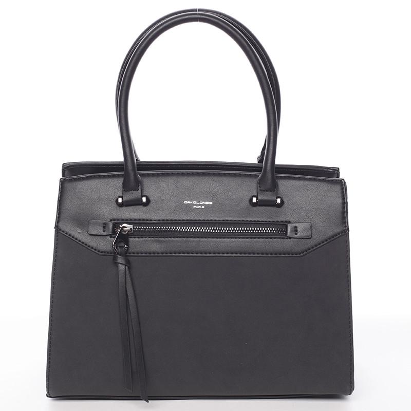 Sofistikovaná dámská kabelka David Jones Valentina, černá