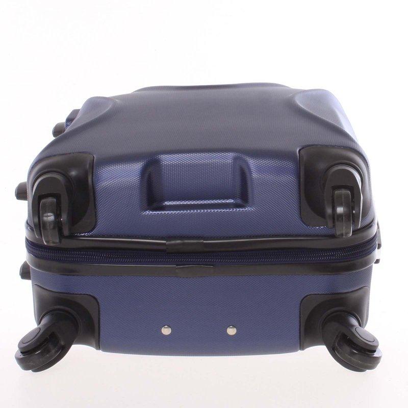 Cestovní kufr Ormi modrý, vel. III, 4 kolečka
