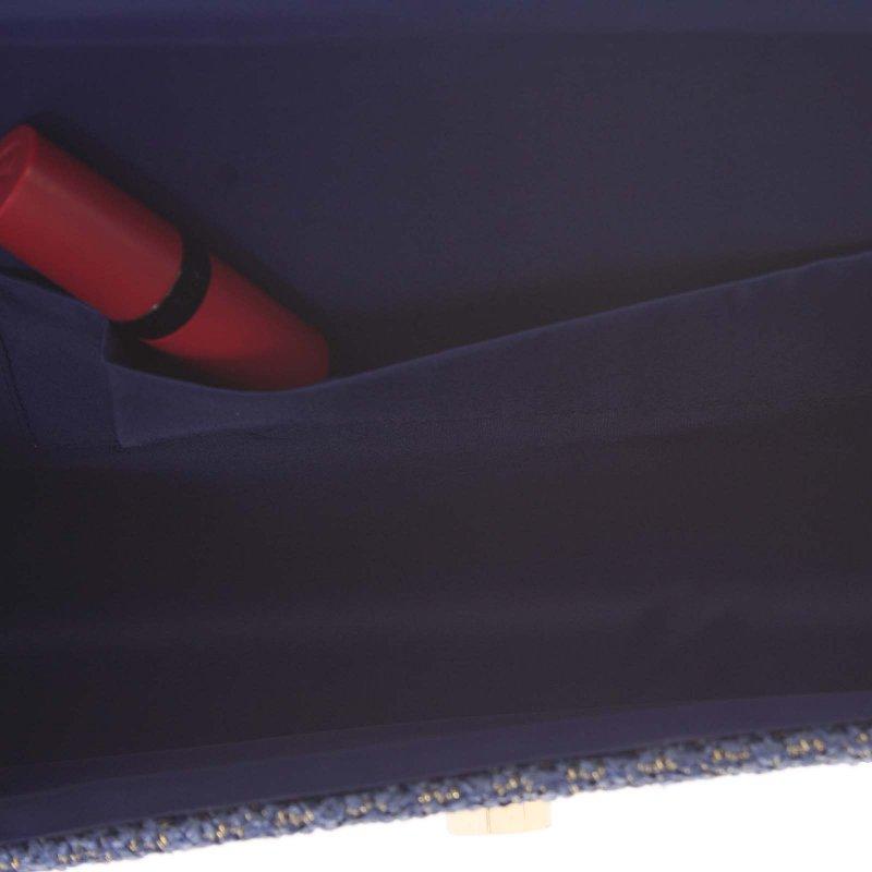 Stylové crossbody psaníčko luxusní slza Wendy, korálově modré