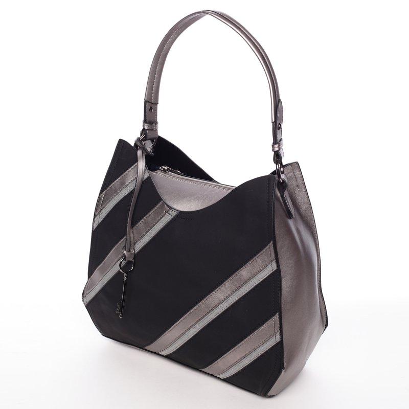 Módní dámská kabelka Mc Antonella,černá