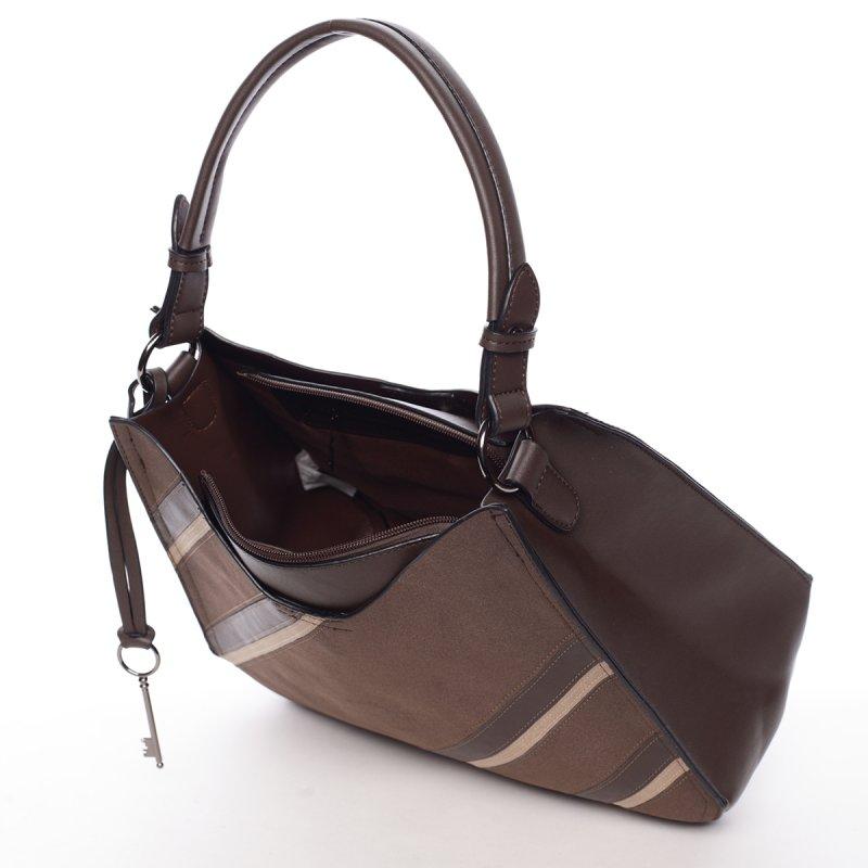 Módní dámská kabelka Mc Antonella, hnědá