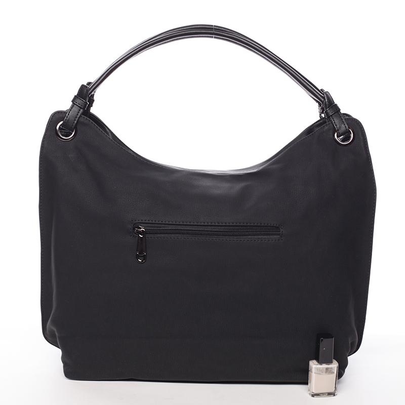 Prostorná dámská kabelka Paola, černá