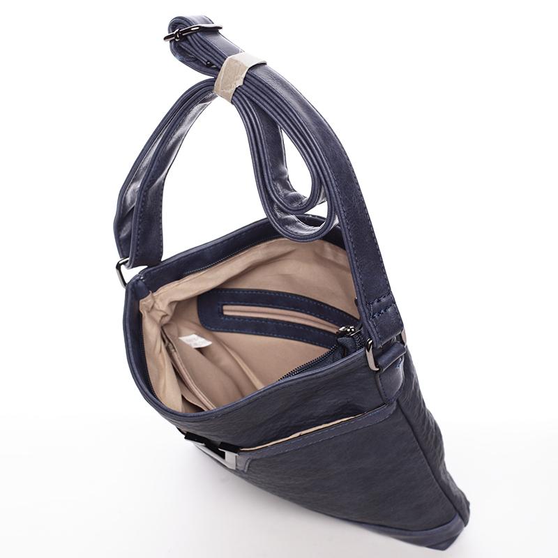 Modrá dámská crossbody kabelka Josette