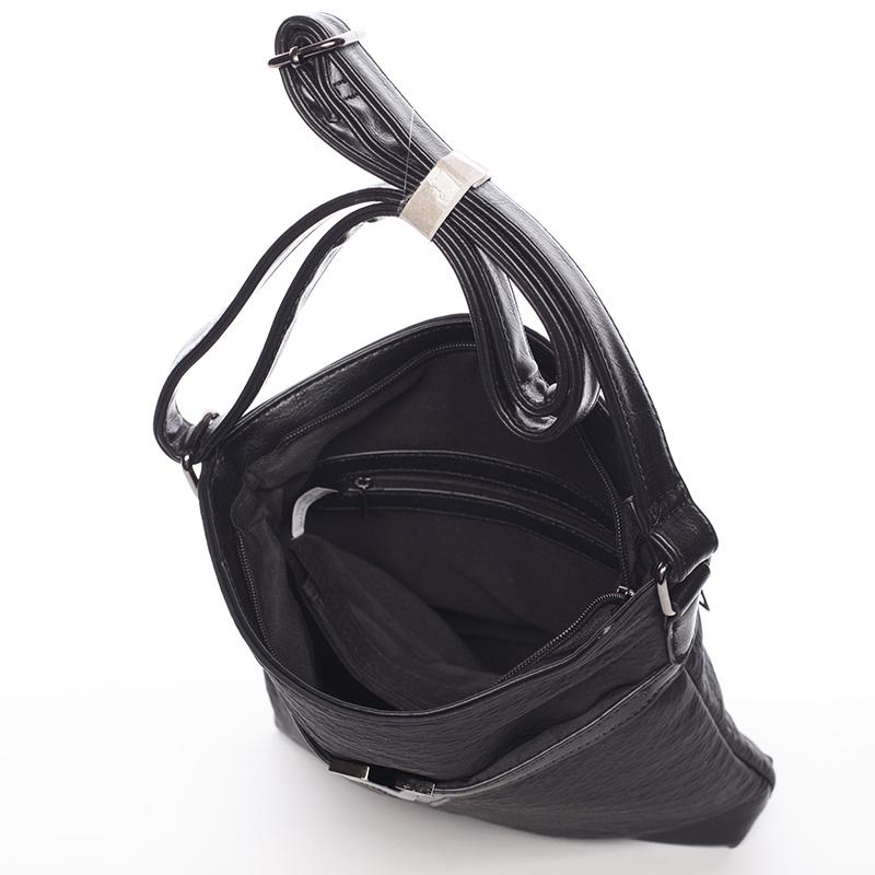 Černá dámská crossbody kabelka Josette