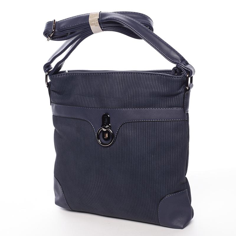 Elegantní crossbody kabelka Naomi, modrá