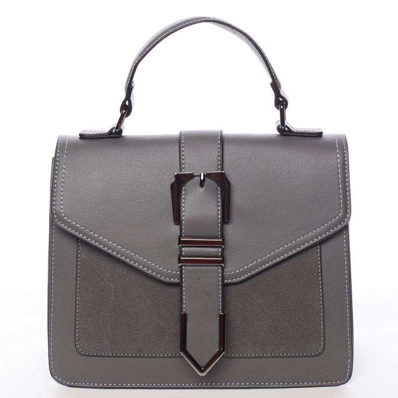 Dámská společenská kabelka Bianca, šedá
