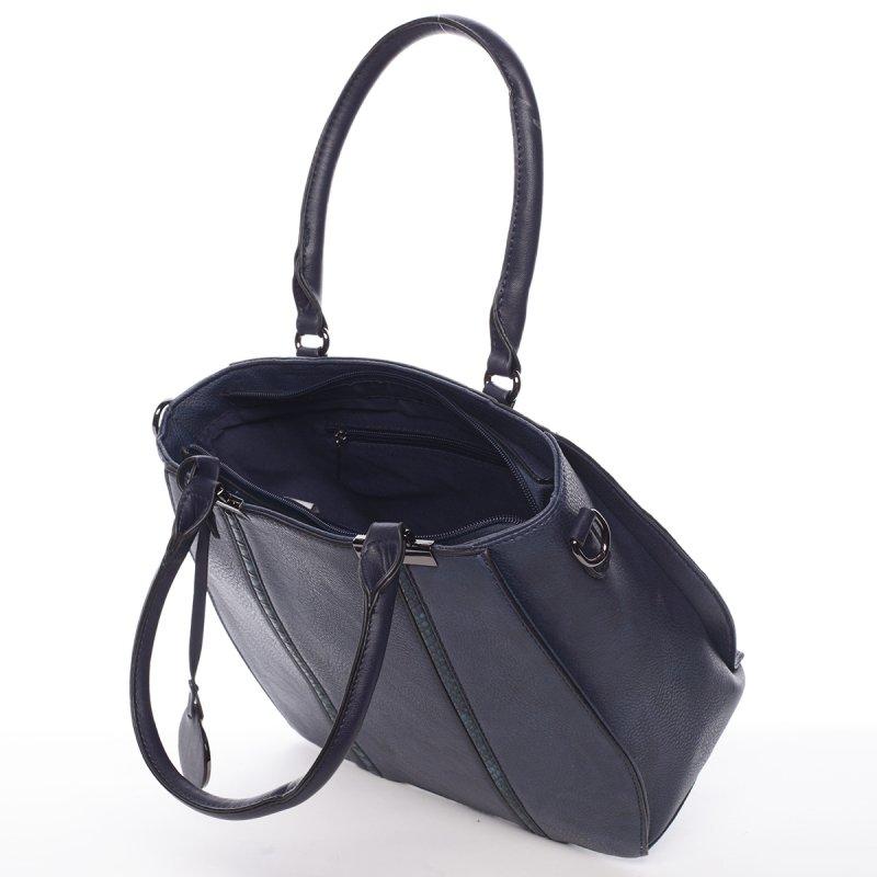 Charismatická dámská kabelka Chantel,modrá