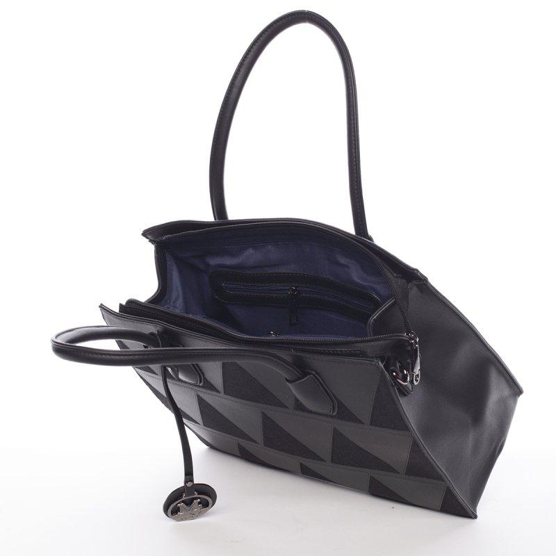 Dámská velmi elegantní kabelka Franceska, černá