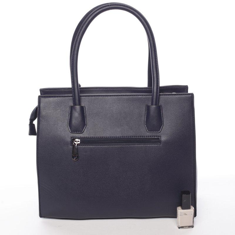 Dámská velmi elegantní kabelka Franceska, tmavě modrá