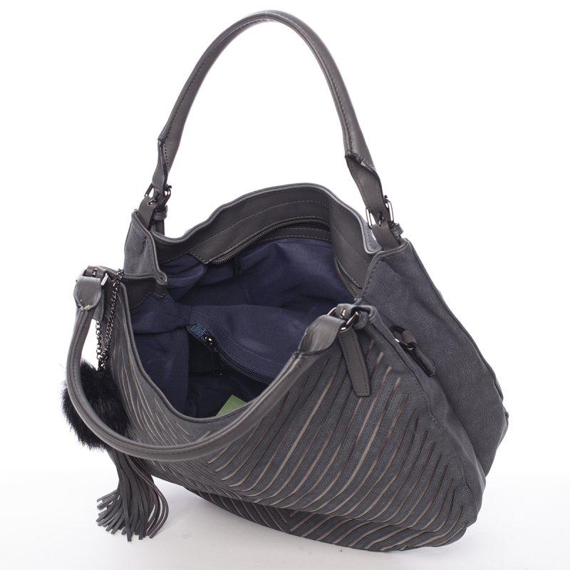 Dámská elegantní kabelka Florrie, šedá