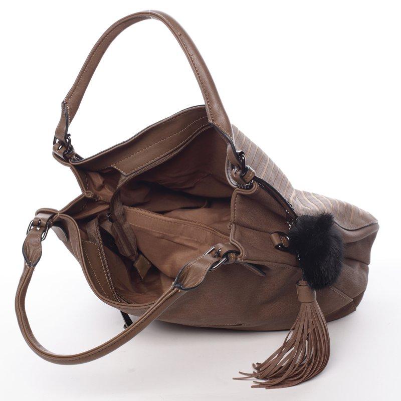 Dámská elegantní kabelka Florrie, hnědá
