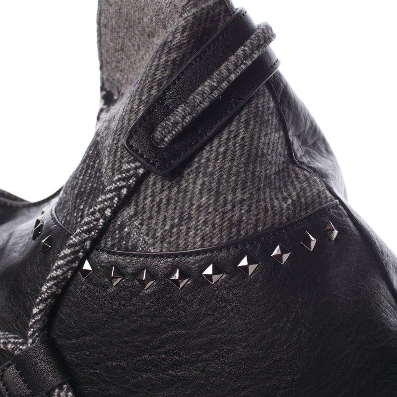 Měkká dámská kabelka Karmen, černá