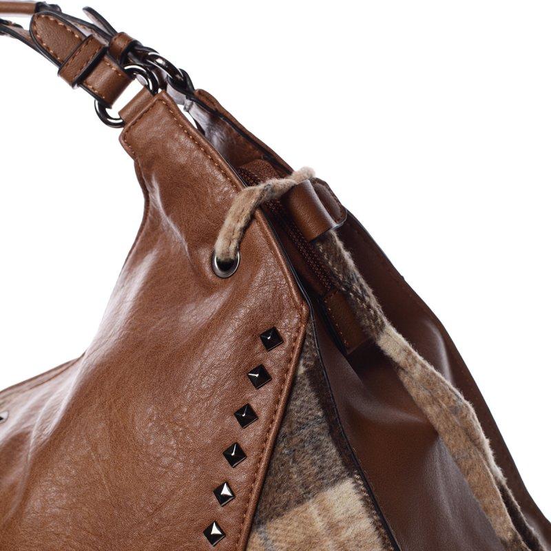 Elegantní podzimní kabelka Josette, hnědá