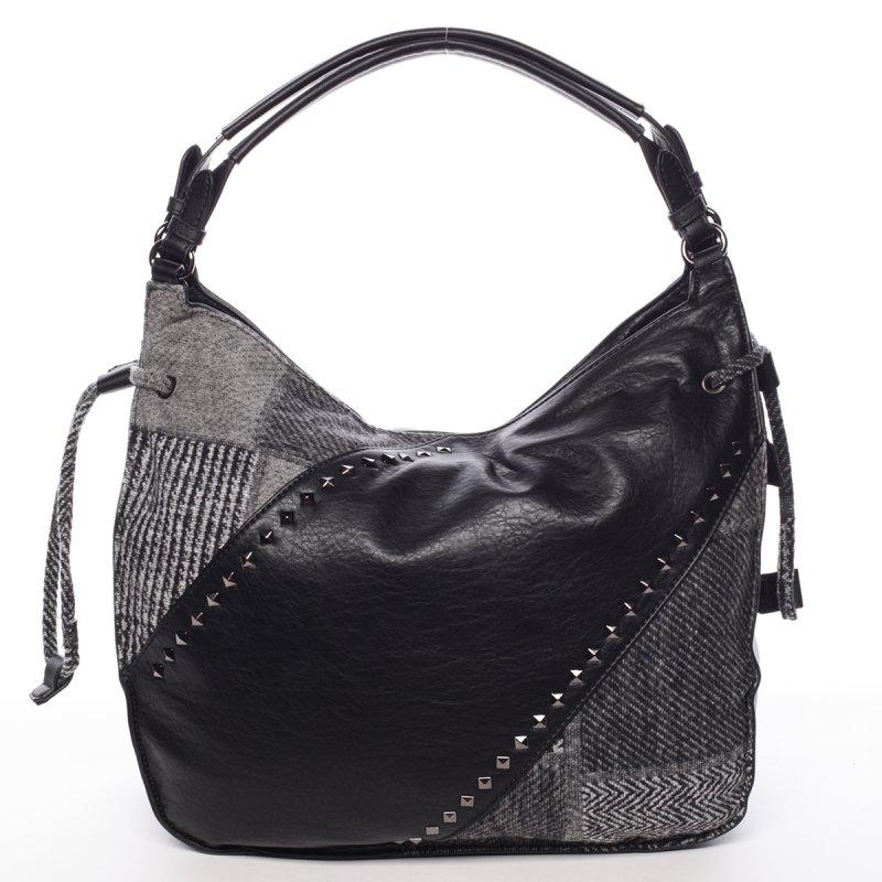 Elegantní podzimní kabelka Josette, černá