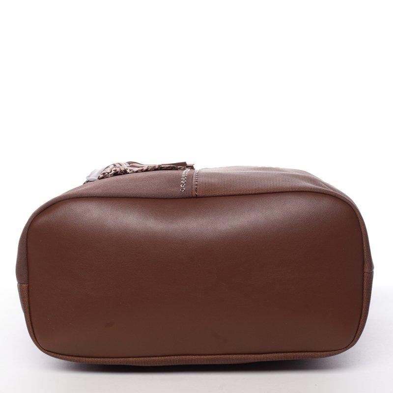 Hnědá, elegantní kabelka Robel