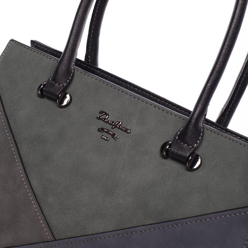 Trendy elegantní kabelka Rachel, černá