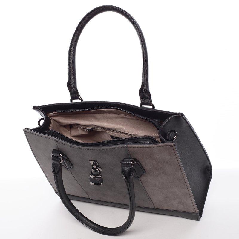 Nadčasová dámská crossbody kabelka Christin, černá
