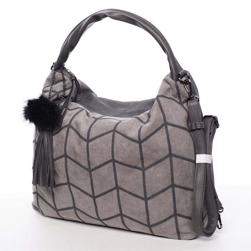 Moderní dámská kabelka Debora, šedá
