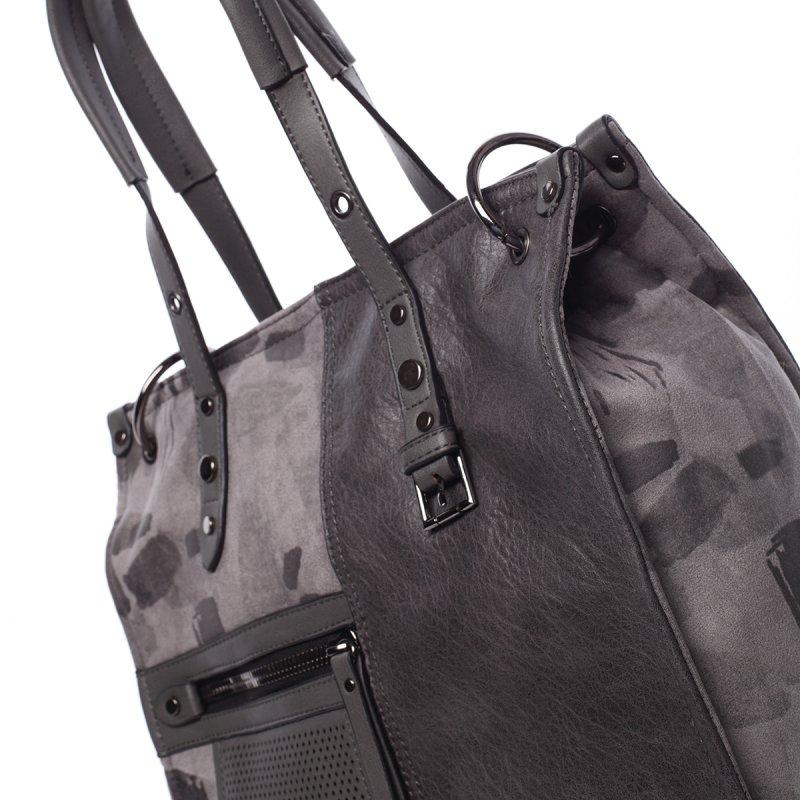 Stylová dámská kabelka Erica, šedá
