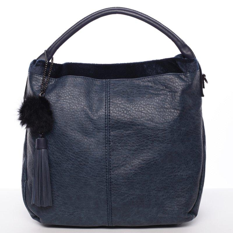 Velká dámská kabelka Samanta, modrá