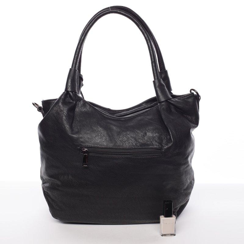 Zdobená dámská kabelka Amáta, černá