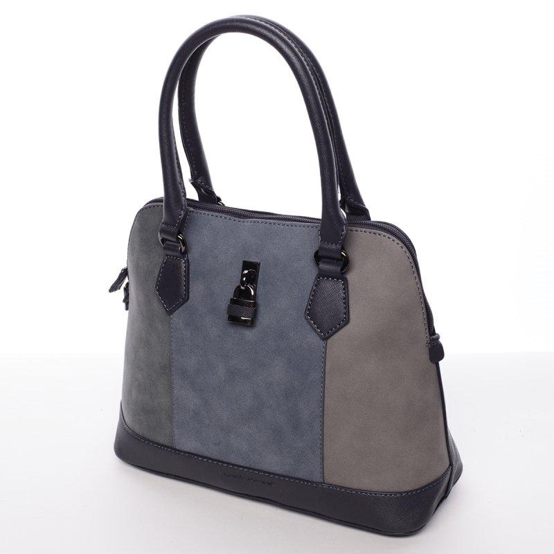 Luxusní dámská kabelka Corinne, tmavě modrá