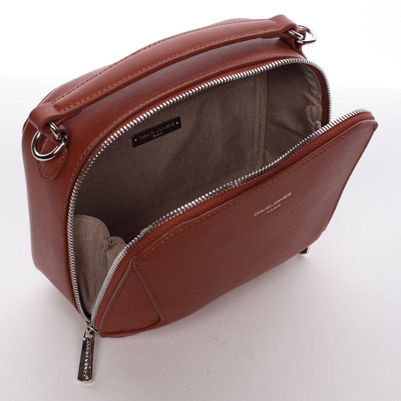 Elegantní crossbody kabelka Catherine, hnědá