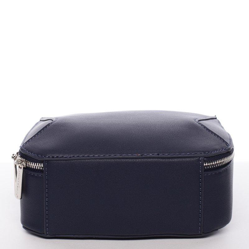 Elegantní crossbody kabelka Catherine, tmavě modrá