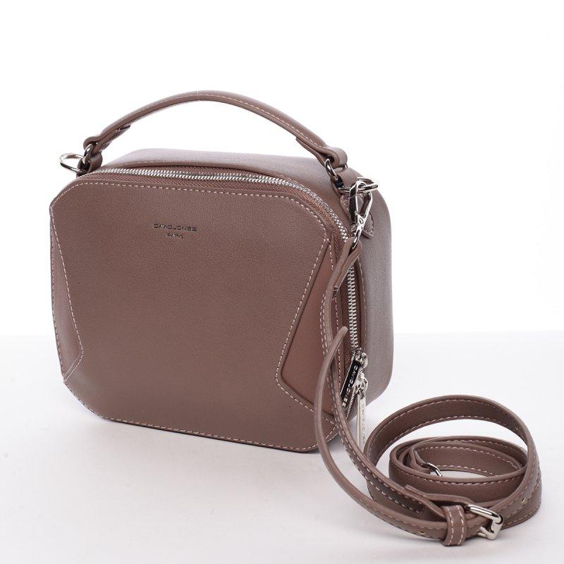 Elegantní crossbody kabelka Catherine, tmavě růžová