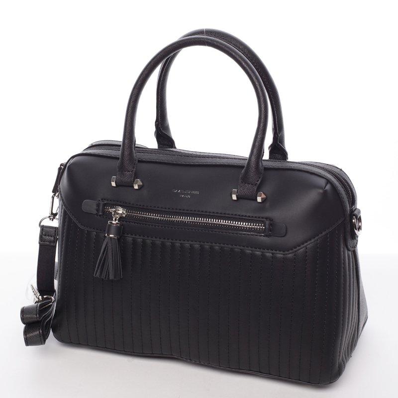 Elegantní dámská kabelka do ruky Nathalie, černá