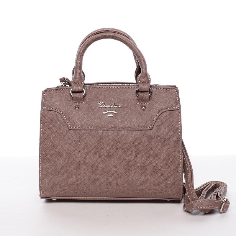 Dámská crossbody kabelka Nicole, tmavě růžová