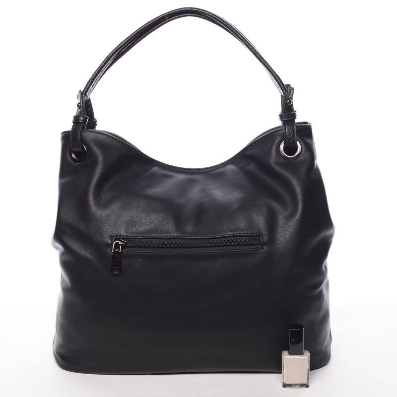 Stylová dámská kabelka Simone, černá