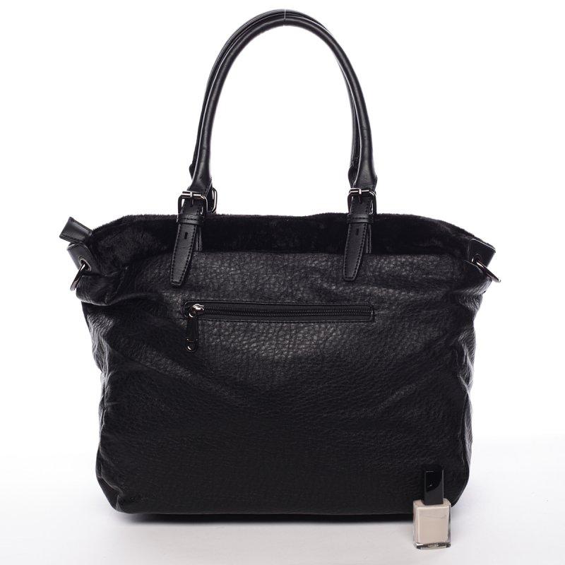 Měkká dámská kabelka Avril, černá
