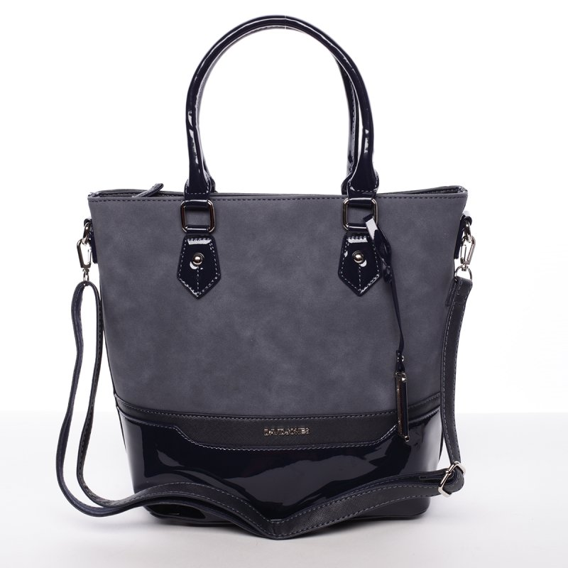 Tmavě modrá dámská kabelka Chantal