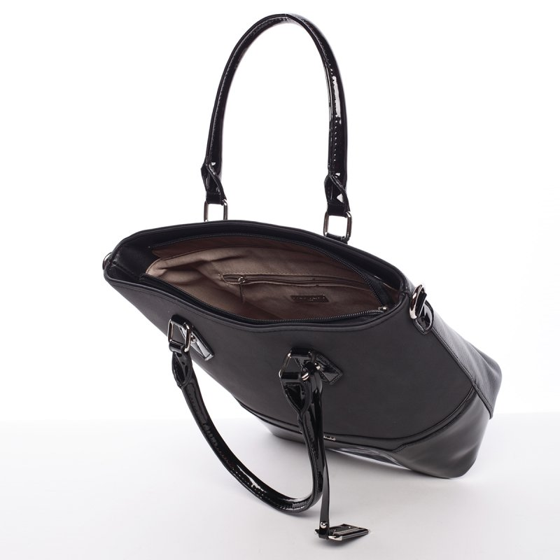 Černá dámská kabelka Chantal