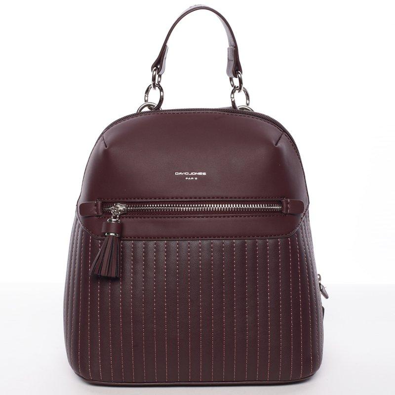 Elegantní dámský batoh Belinda, vínový
