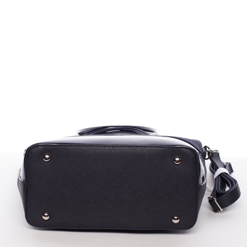 Exkluzivní dámská kabelka Caridad, tmavě modrá