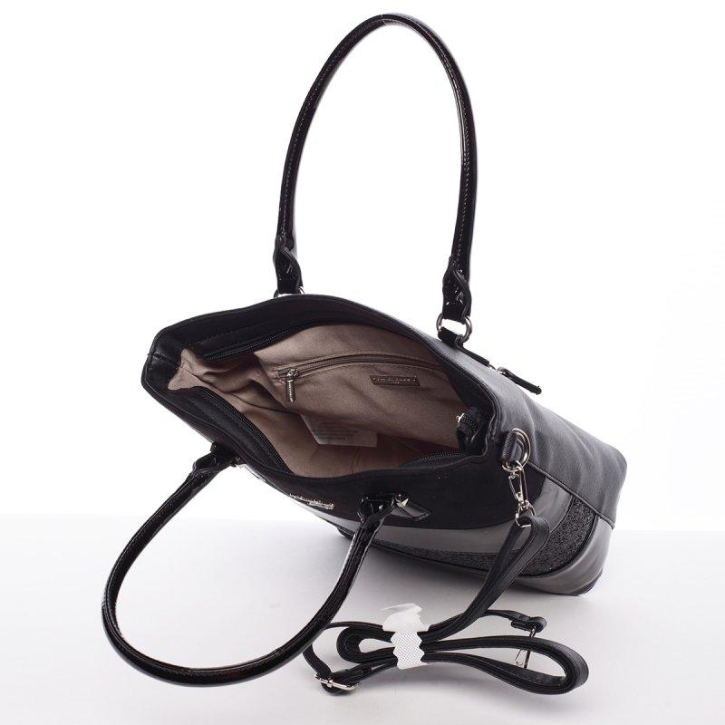 Exkluzivní dámská kabelka Caridad, černá