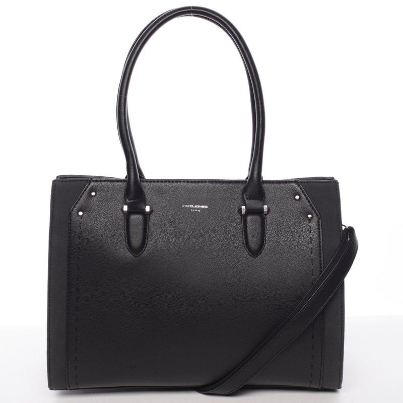 Elegantní středně velká dámská kabelka Dolores, černá