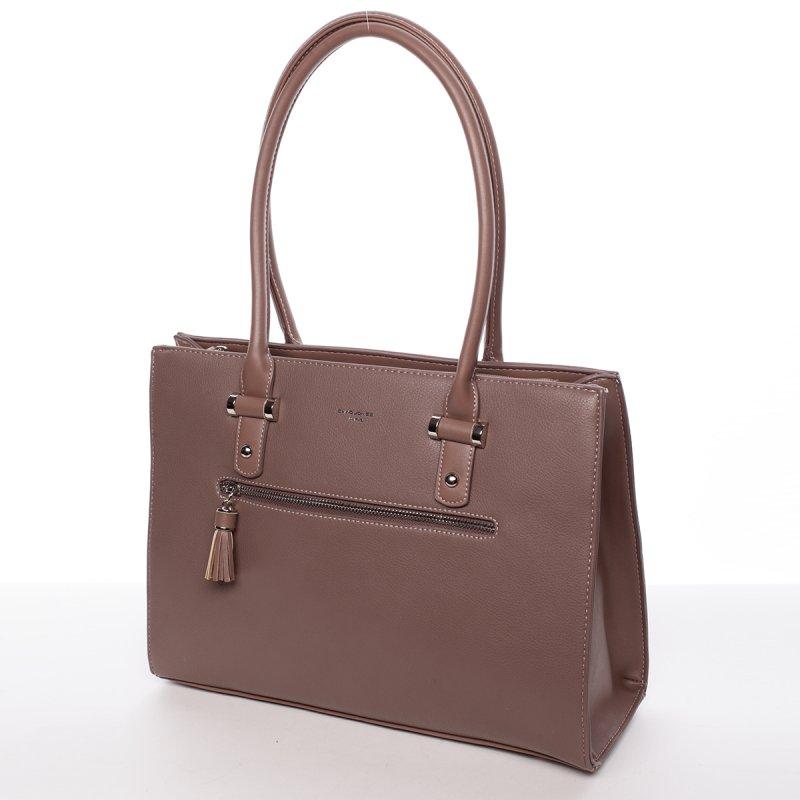Originální dámská kabelka přes rameno Eugenie, růžová