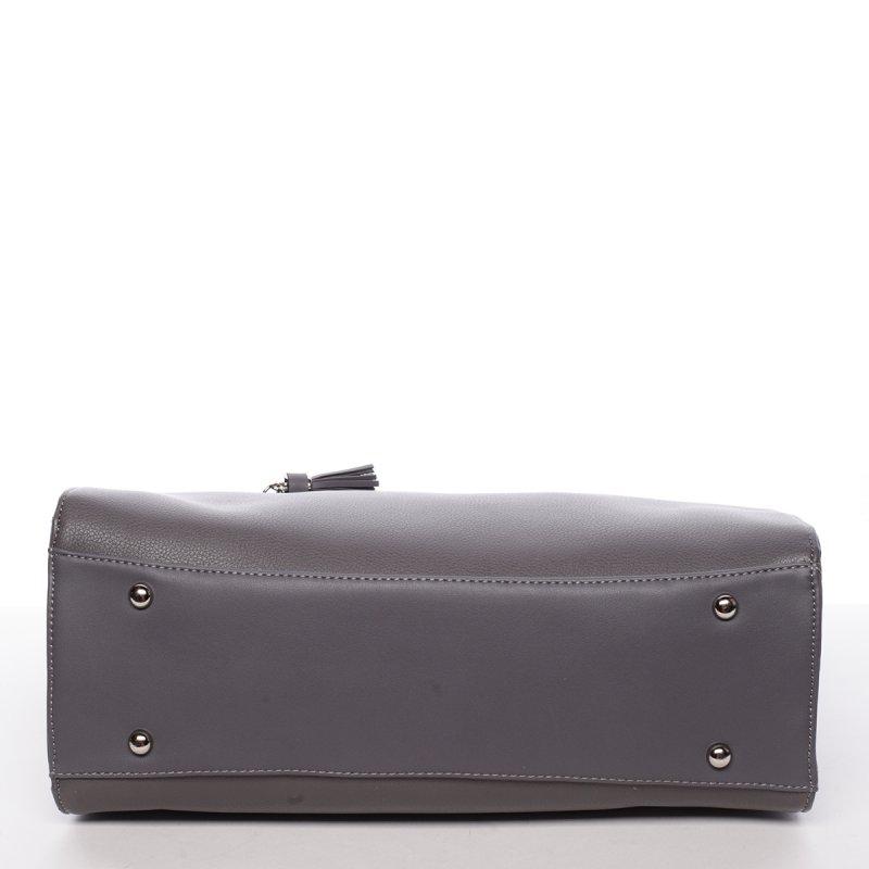 Originální dámská kabelka přes rameno Eugenie,tmavě šedá