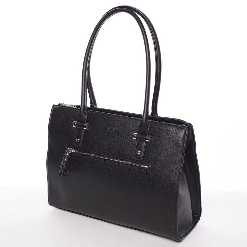 Originální dámská kabelka přes rameno Eugenie, černá