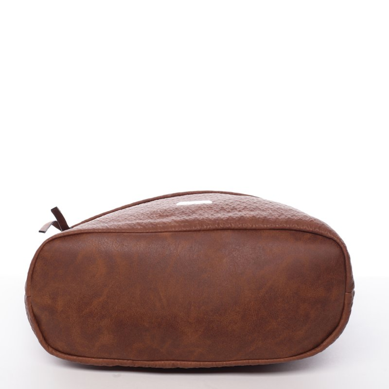 Dámská crossbody kabelka Nicol, hnědá