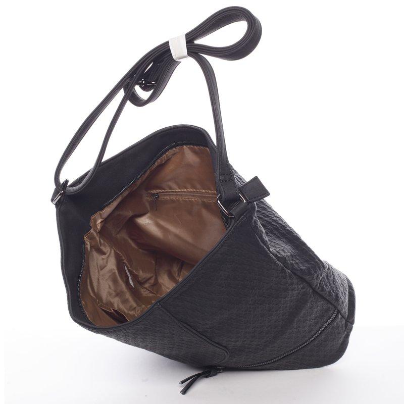 Černá dámská crossbody kabelka Belinda