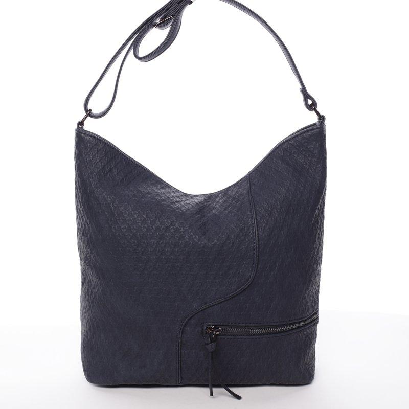 Modrá dámská crossbody kabelka Belinda