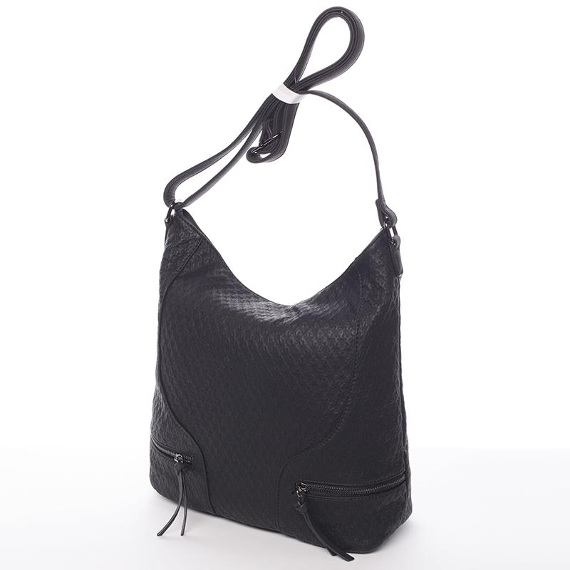 Originální dámská kabelka přes rameno Jessica, černá