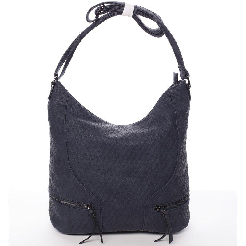 Originální dámská kabelka přes rameno Jessica, modrá