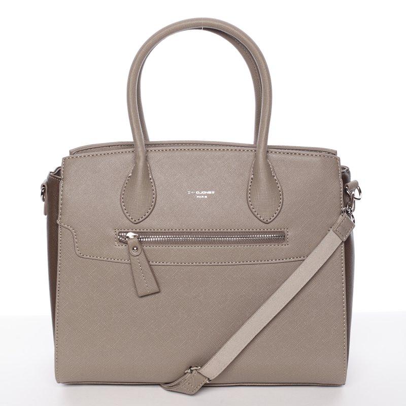 Elegantní dámská kabelka do ruky Vanessa, šedá